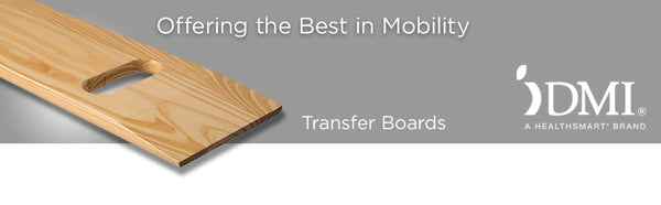 DMI Deluxe Solid Wood Bariatric Patient Transfer Boards