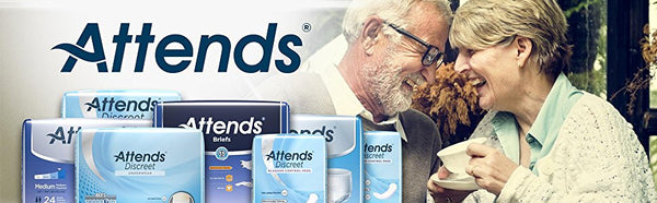 Attends Advanced Protective Underwear with Advanced DermaDry Technology for Adult Incontinence Care