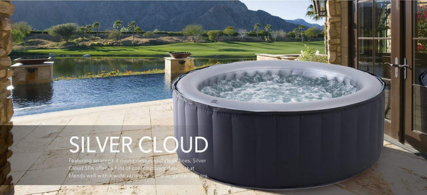 MSpa Silver Cloud Portable Luxury Hot Tubs with Jets