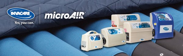 Invacare microAIR Alternating Pressure Low Air Loss