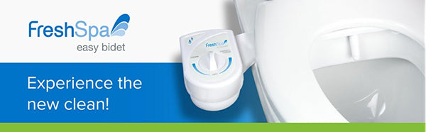 Brondell FreshSpa Easy Bidet Toilet Attachment – White