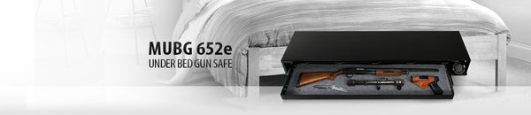 Mesa Safes Under-Bed Electronic Gun Safe