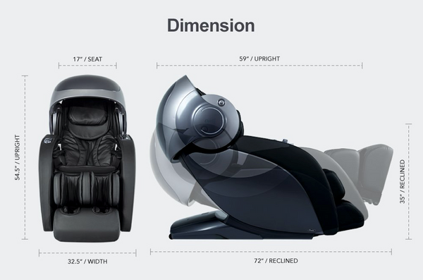 OSAKI OS-4D Escape Full Body Massage Chair with Heat Therapy