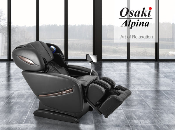 Osaki Pro Alpina Massage Chairs with AirBag Massage, Heat Therapy & Seat Vibration