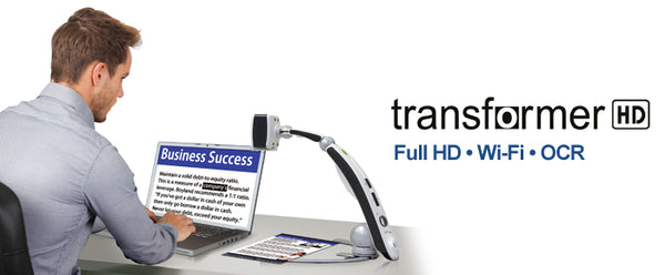 Enhanced Vision Transformer HD High Performance Portable Video Magnifier