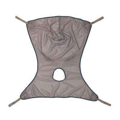 Comfort Sling with Commode Opening Net Small - Senior.com Transfer Equipment