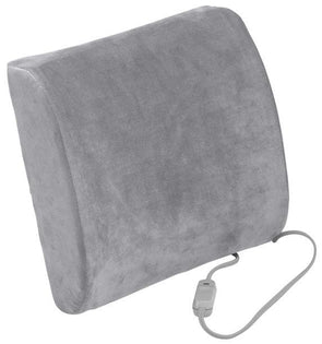 Drive Medical Comfort Touch Heated Lumbar Support Cushion - Senior.com Lumbar Supports