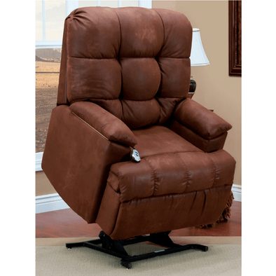 MedLift Wall-a-Way Reclining Assistive Lift Chairs with Arm Storage Compartment & Tray - Senior.com Recliners