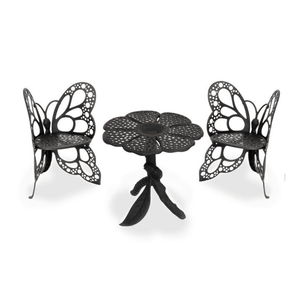 FlowerHouse Butterfly Bistro Set - Includes Table & 2 Chairs - Senior.com Patio Furniture