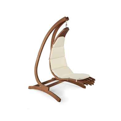 Exaco Wave Lounger Hanging Chair with Optimist Stand - Senior.com Hanging Chairs