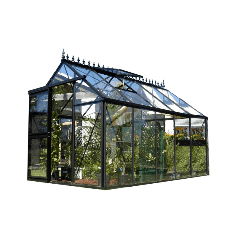 Surprising Exaco Junior Victorian Greenhouse With 4Mm Thick Safety Glass 96 Sq Ft Interior Design Ideas Gresisoteloinfo