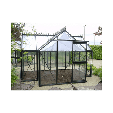 Exaco Junior Orangerie Premier Greenhouse - 116 sq ft - Senior.com Greenhouses