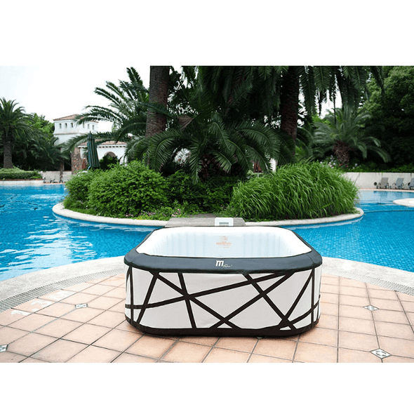 MSPA Premium Soho 132 Jet Relaxation and Hydrotherapy Spa - 6 Person - Senior.com Hot Tubs & Jacuzzis