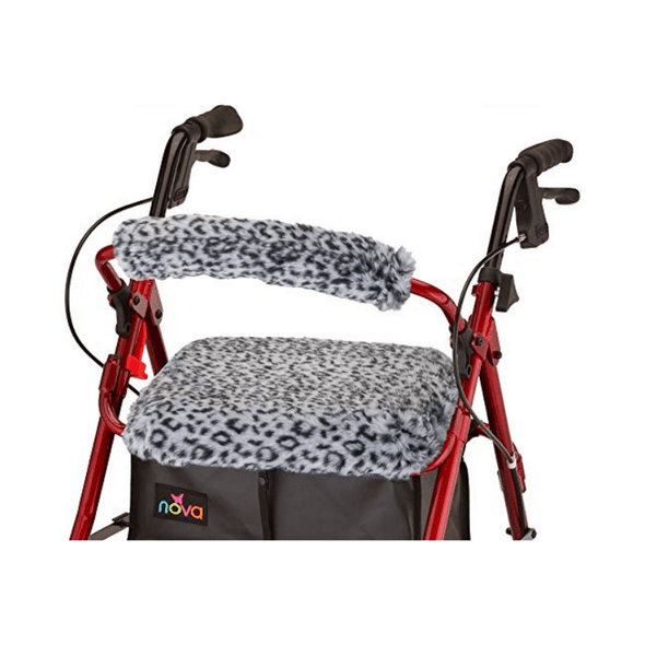 Nova Medical Rollator Walker Seat & Back Covers - Removable and Washable - Senior.com Rollator Accessories