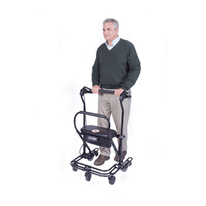 In-Step Mobility U-Step 2 Foldable Walking Stabilizer with Press Down Brakes - Senior.com Walkers