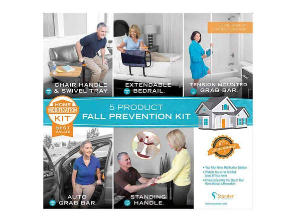 Stander 5 Piece Fall Prevention Kit - All In One Home Modification Kit