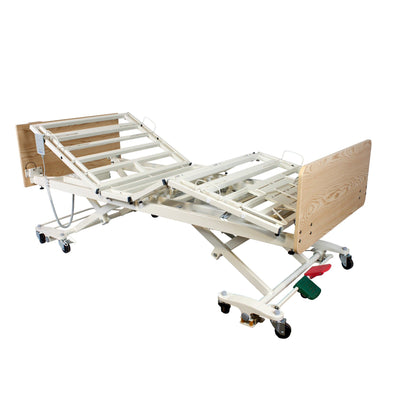 Dynarex DB300 5 Function Long-Term Care Bariatric Low Bed - Senior.com Bariatric Bed Packages
