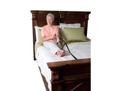 Stander BedCaddie - In Bed Support Assist Handle with Adjustable Nylon Strap + Three Ergonomic Hand Grips - Senior.com Bedroom Accessories