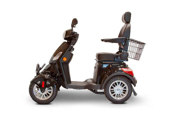 EWheels EW-46 Bariatric 4-Wheel Long Range Electric Mobility Scooters - 35 Mile Range - Senior.com Scooters