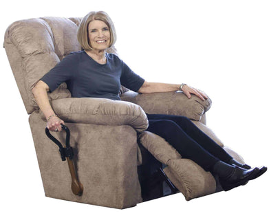 Stander Recliner Lever Extender - Ergonomic Curve Grip + Oversized Handle & Secure Fit for Easy Chair Recliner Handles