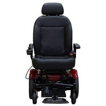 "Shoprider 6Runner Heavy Duty Bariatric Center-Wheel Drive Power Chair with 14"" Mid Wheels - Senior.com Power Chairs"
