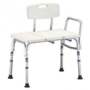 Nova Medical Economy Transfer Bench with Detachable Backrest - Senior.com Transfer Equipment