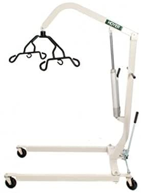 Hoyer Hydraulic Patient Lift with Pump Handle - U Shaped Base - Senior.com Patient Lifts