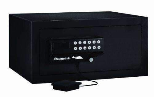 SentrySafe Personal Residential/Hotel Security Safe with Digital Lock & Card Swipe Entry - Senior.com Security Safes