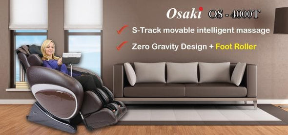Osaki 4000T Full Body Massage Chairs with Zero Gravity Recline and Full Body Smart Scan - Senior.com Massage Chairs