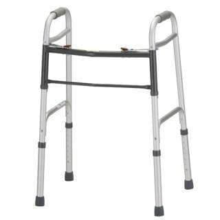 Nova Medical Adult 2 Button Folding Walker - Senior.com walkers