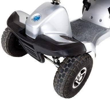 Tzora Titan 4 Hummer XL Folding 4-Wheel Electric Mobility Scooters - Senior.com Scooters