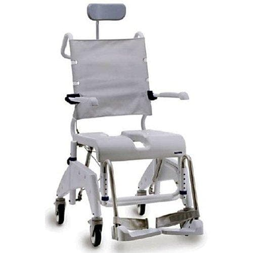 Aquatec OceanVIP Tilt-In-Space Shower Commode Chair - Senior.com Shower Chairs