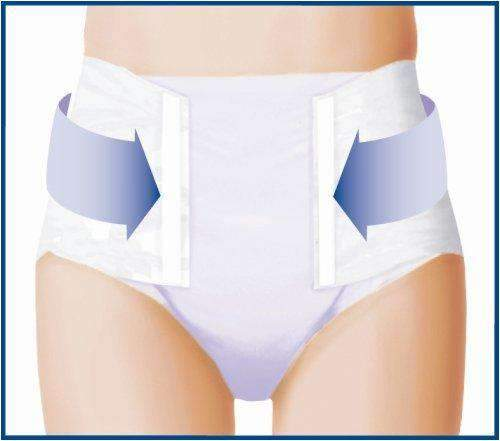 TENA Stretch Ultra Tab Closure Medium Disposable Unisex Briefs - Heavy Absorbency - Senior.com Incontinence