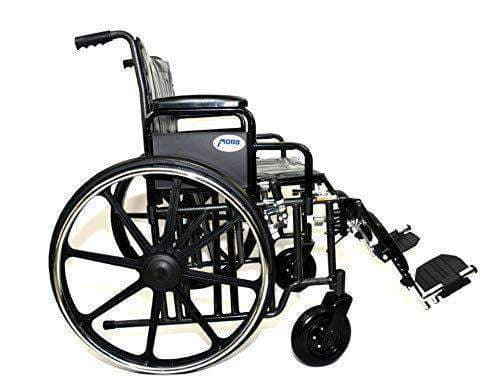 MOBB Healthcare Bariatric Wheelchairs with Elevating Leg Rests - Senior.com Wheelchairs