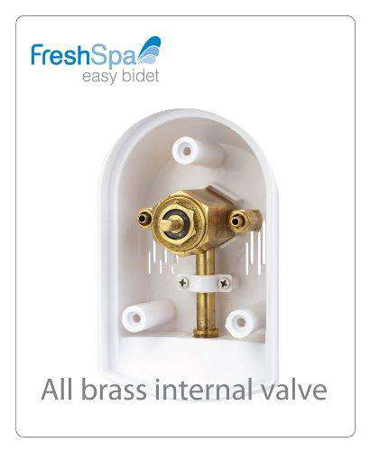 Brondell FreshSpa Easy Bidet Toilet Attachment – White - Senior.com Bidets