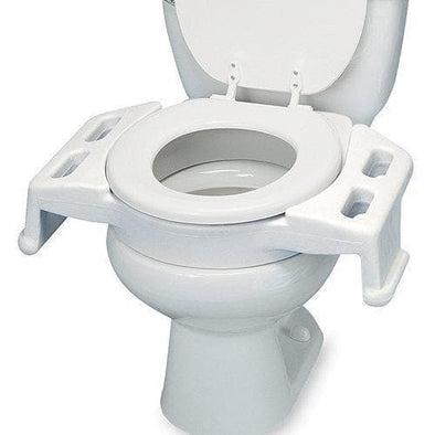 Maddak Elevated Wheelchair Bariatric Transfer Toilet Seat - Senior.com Raised Toilet Seats