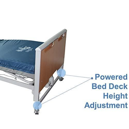Invacare Etude Homecare Full Electric Bed - Modern Euro Style Design - Senior.com beds