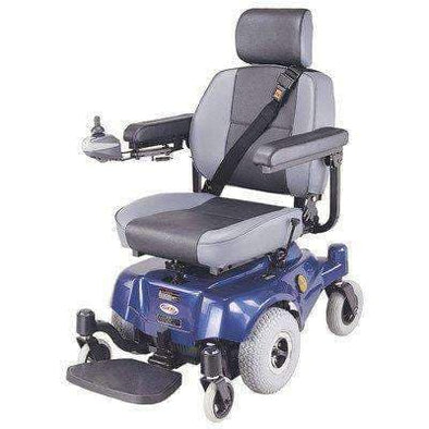 C.T.M. Compact Mid-Wheel Drive Power Chairs HS-2800 Blue