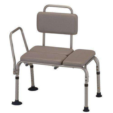 Nova Medical Padded Bathtub Transfer Bench with Detachable Back - Senior.com Transfer Equipment