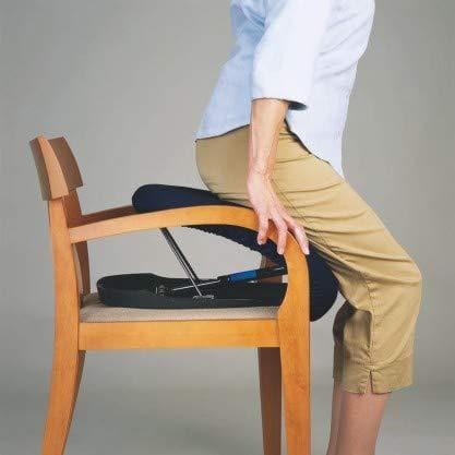 Carex Upeasy Seat Assist Plus - Chair Lift And Sofa Stand Assist - Portable Lifting Seat - Senior.com Stand Assist Aids