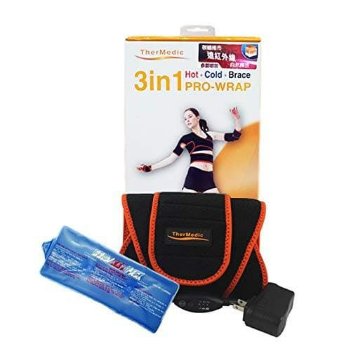 TherMedic Far Infrared Heating Brace with Heating/Thermal Pad and Ice Pack For Lower Back Pain - Senior.com Heating Pads & Blankets
