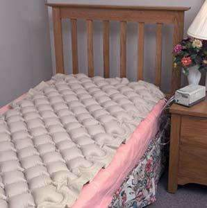 DMI Alternating Pressure Mattress Pad for Twin Beds - Helps Relieve Bed Sores