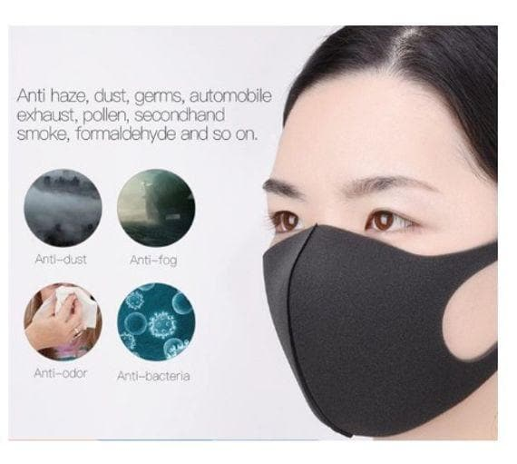 Comfortable Reusable & Washable Dusk Masks - 5 Colors - Senior.com Facial Masks