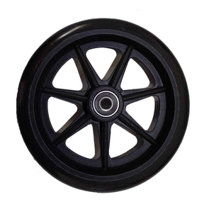 "Stander Walker Replacement 6"" Wheels - For the EZ Fold N' Go Walker - Set of 2-Black"