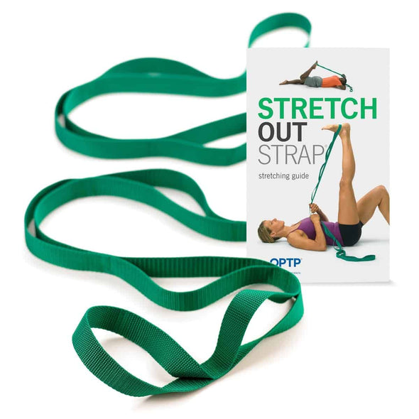 OPTP Stretch Out Strap - The Ultimate Stretching Bands - Senior.com Stretching Equipment