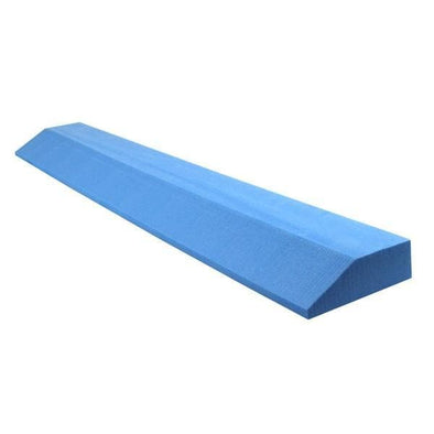 OPTP Lightweight Pilates & Yoga Wedge - Blue - Senior.com Yoga Products