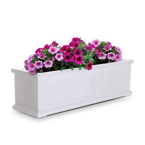 Mayne Cape Cod Window Box Planters - 3 Foot - Senior.com Planters