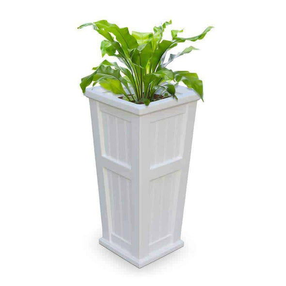 "Mayne Cape Cod Tall Patio Planters - 16"" x 32"" - Senior.com Planters"