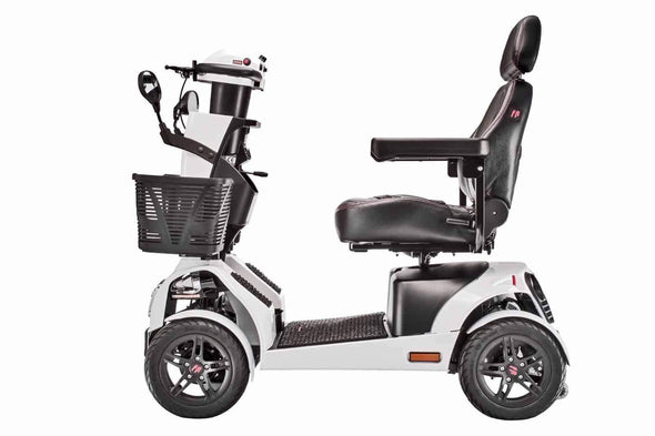 FreeRider FR1 Rugged Large Bariatric 4-Wheel Mobility Scooters - Speed 9.4 mph - Senior.com Scooters