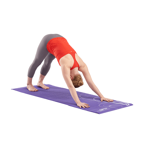 "OPTP Tavel Yoga Mat with Non-Slip Surface - 72"" L x 24"" W x 1/4"" thick - Senior.com Exercise Mats"